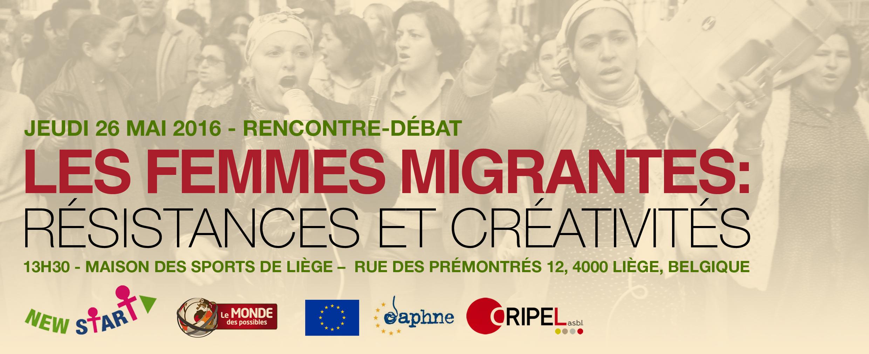 """Résumé du colloque """"Les femmes migrantes: résistances et créativités"""""""