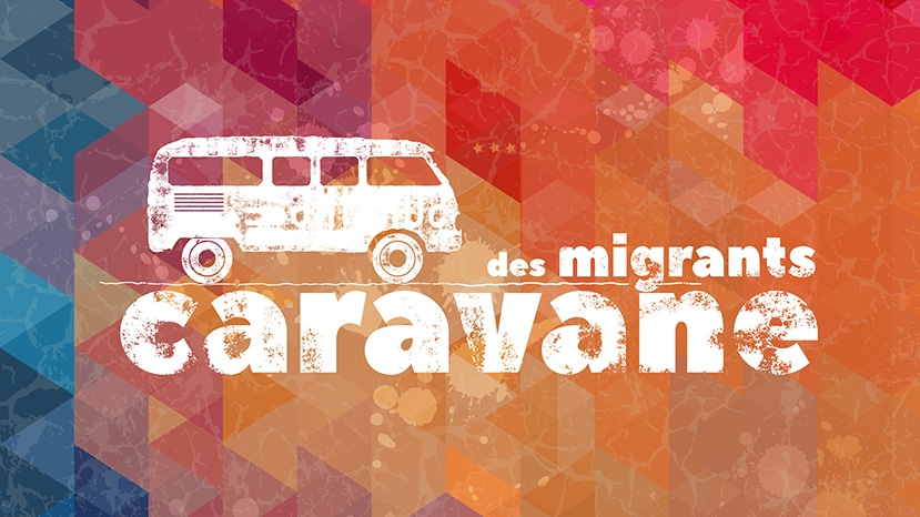 La Caravane des migrants arrive à Liège ce 23 septembre