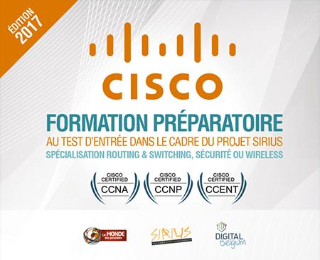 Inscrivez-vous à la formation Cisco (réseautique) au Monde des Possibles !