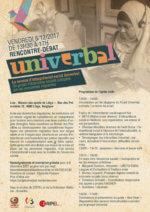 Rencontre-débat :«Le service d'interprétariat social Univerbal: un projet d'économie sociale autogéré par les personnes migrantes»